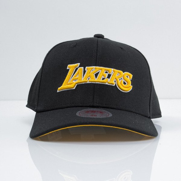Mitchell & Ness cap strech fit Los Angeles Lakers black Courtside EU384