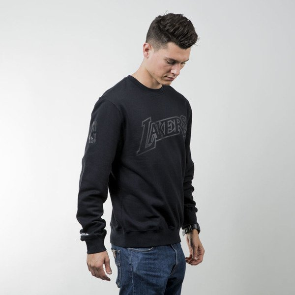 Mitchell & Ness crewneck Los Angeles Lakers black Bank Shot