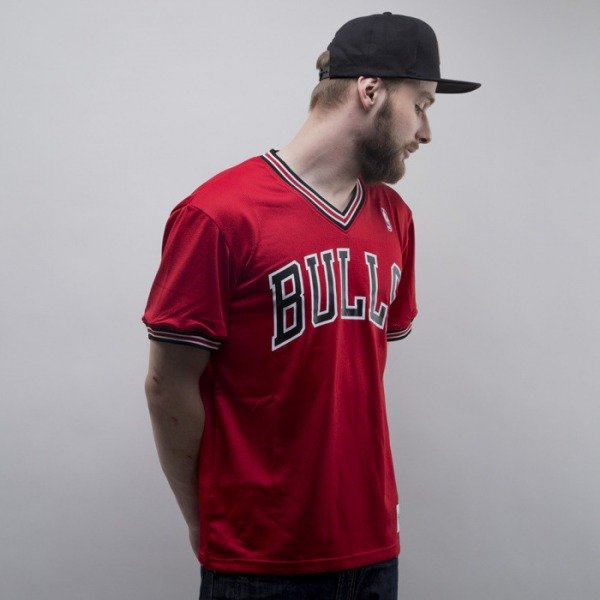 Mitchell & Ness jersey Chicago Bulls red #1 Spot Mesh Short Sleeve