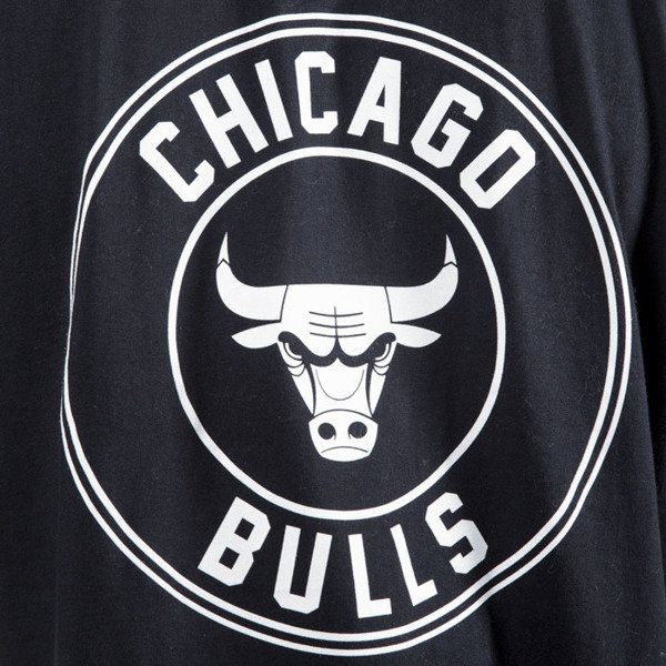 Mitchell & Ness longsleeve Chicago Bulls black ONE DECK