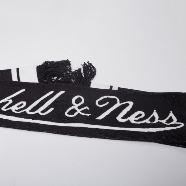 Mitchell & Ness scarf Brooklyn Nets black Black Out Team S337Z