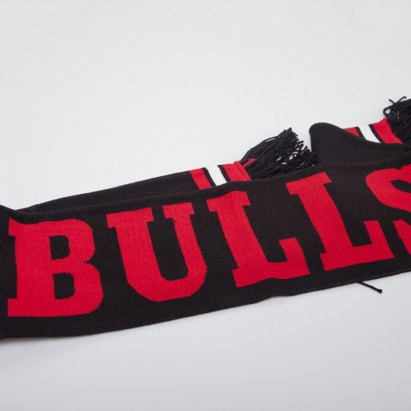 Mitchell & Ness scarf Chicago Bulls black Black Out Team S336Z