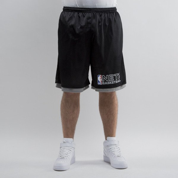 Mitchell & Ness shorts Brooklyn Nets black NBA Reversible Mesh