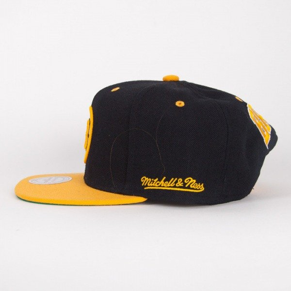 Mitchell & Ness snapback Boston Bruins black / yelow Flipside