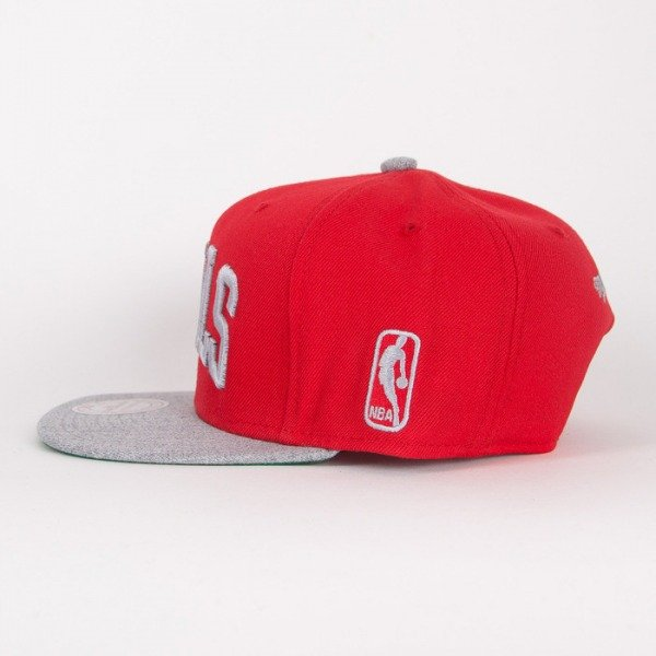 Mitchell & Ness snapback Chicago Bulls red / grey Tctop