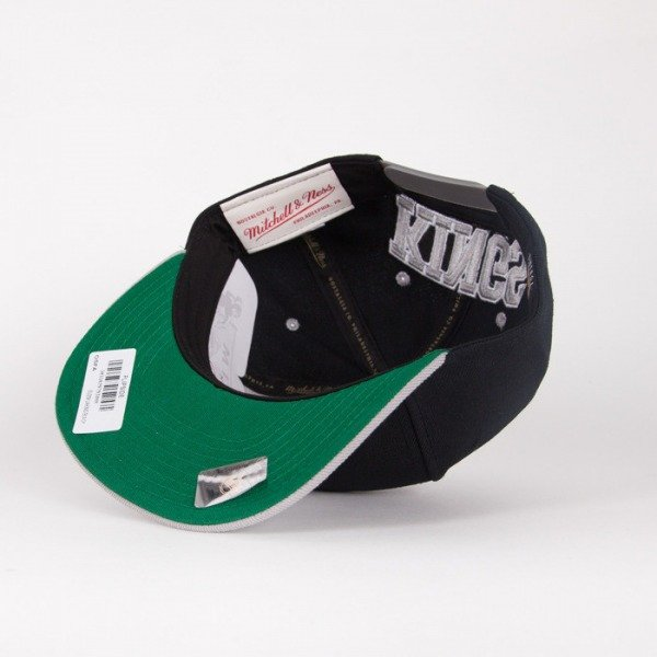 Mitchell & Ness snapback Los Angeles Kings black / grey Flipside