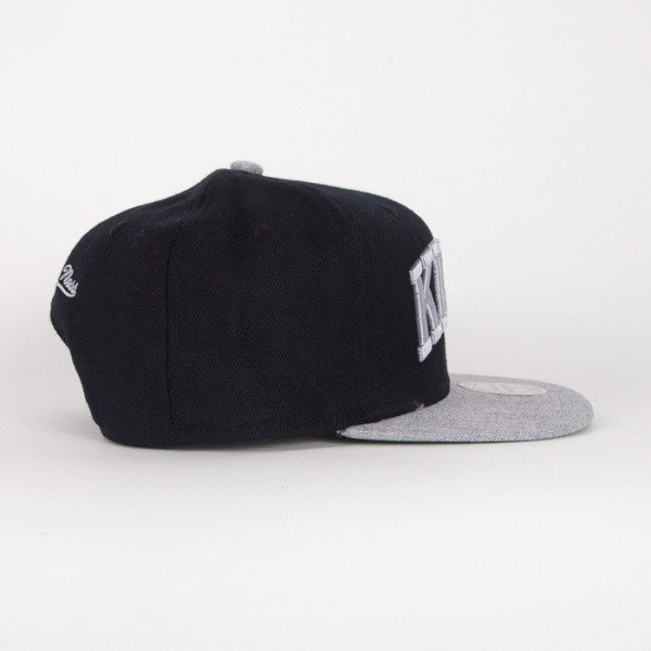Mitchell & Ness snapback Los Angeles Kings black / grey Tctop