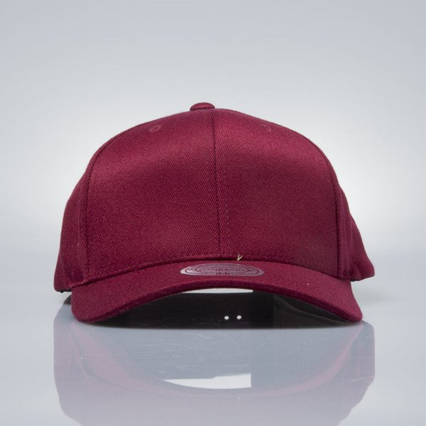 Mitchell & Ness snapback M&N burgundy EU1011 SOLID COLOUR LOW PRO STRETCH