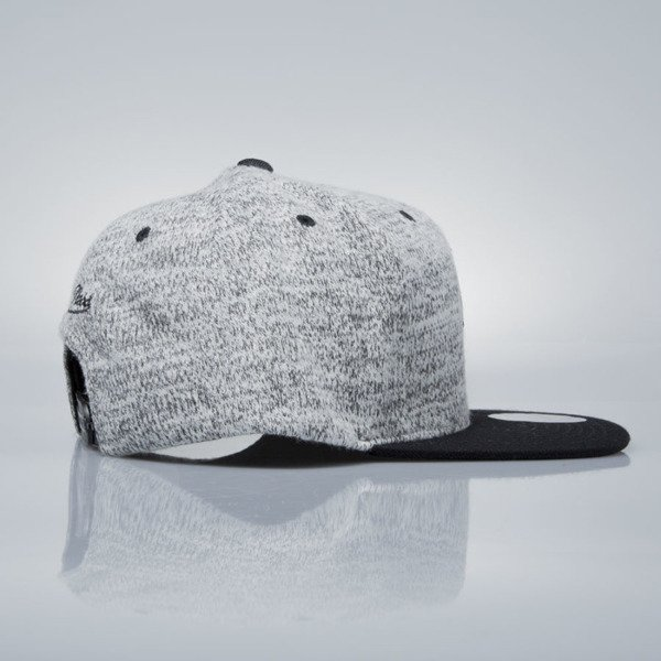 Mitchell & Ness snapback cap Brooklyn Nets grey heather / black EU957 GREY DUSTER
