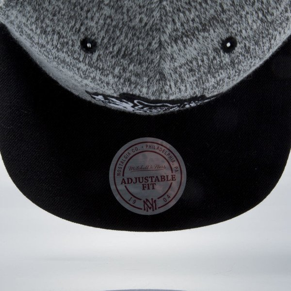 Mitchell & Ness snapback cap Chicago Blackhawks grey heather / black EU957 GREY DUSTER