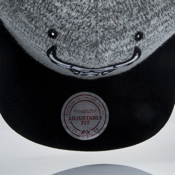 Mitchell & Ness snapback cap Chicago Bulls grey heather / black EU957 GREY DUSTER