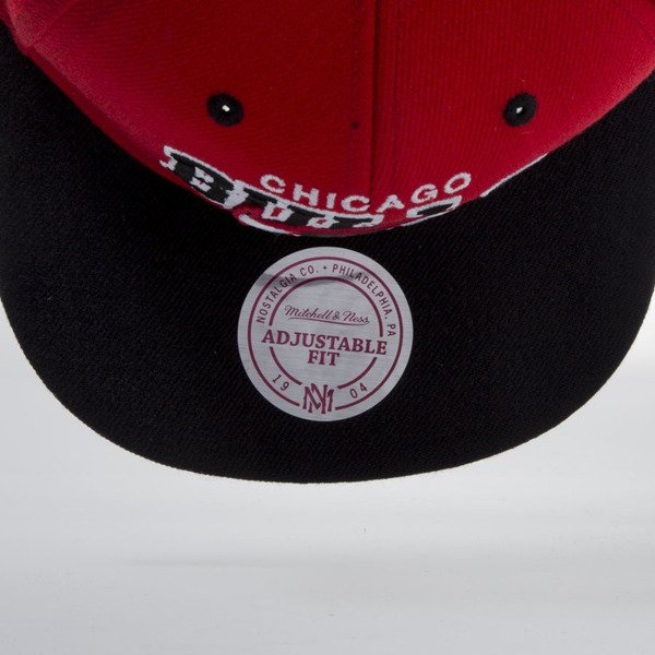 Mitchell & Ness snapback cap Chicago Bulls red NA80Z TEAM ARCH