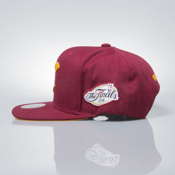 Mitchell & Ness snapback cap Cleveland Cavaliers burgundy 145VZ CAVS CHAMPIONSHIP