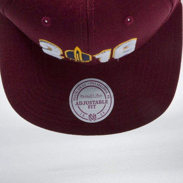 Mitchell & Ness snapback cap Cleveland Cavaliers burgundy 147VZ CAVS CHAMPIONSHIP