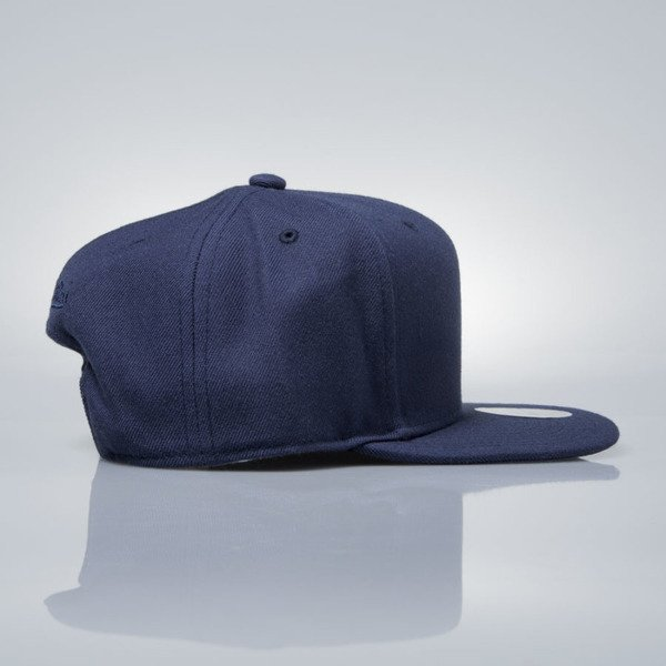 Mitchell & Ness snapback cap M&N navy EU930 SOLID COLOUR BLANK