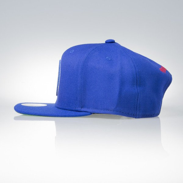 Mitchell & Ness snapback  cap Philadelphia 76ers royal WOOL SOLID NT78Z