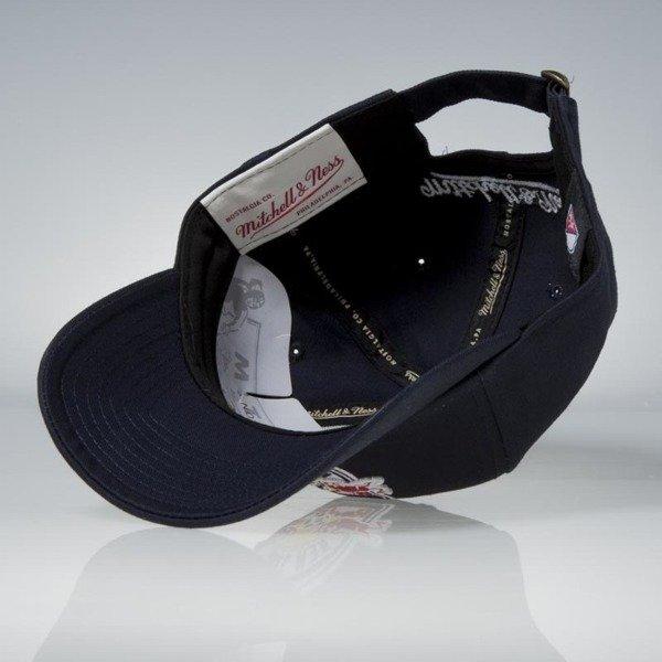 Mitchell   Ness strapback New York Red Bull navy Team Logo Low Pro ... 972e221466