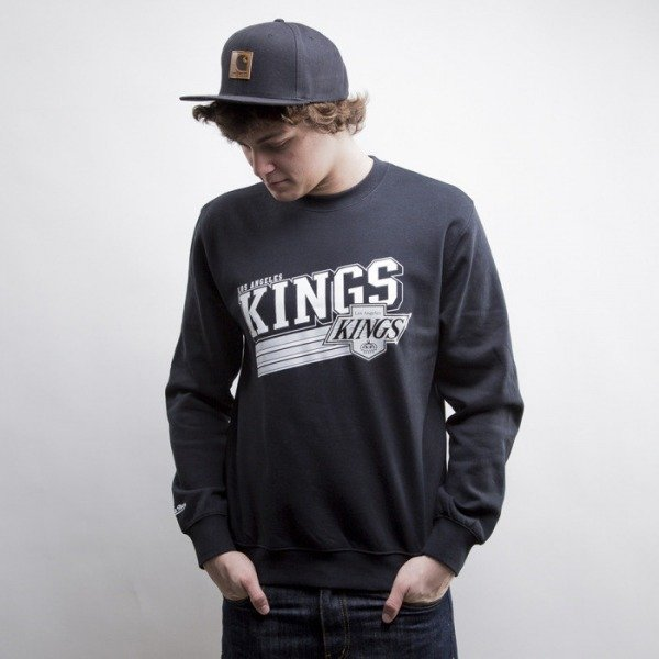 Mitchell & Ness sweatshir Los Angeles Kings black Race To The Finish