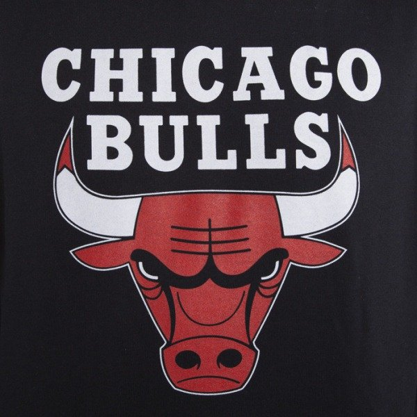 Mitchell & Ness sweatshirt Chicago Bulls Hoody black Team Logo