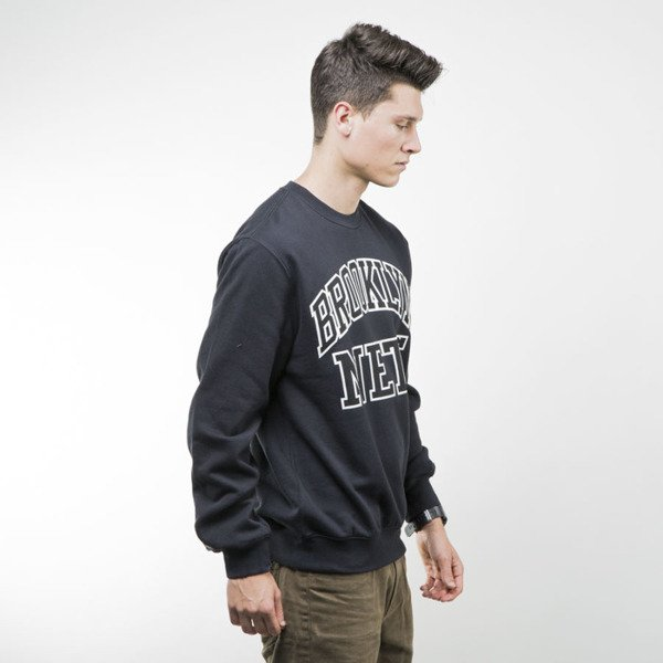 Mitchell & Ness sweatshirt crewneck Brooklyn Nets crewneck black NBA START OF THE SEASON
