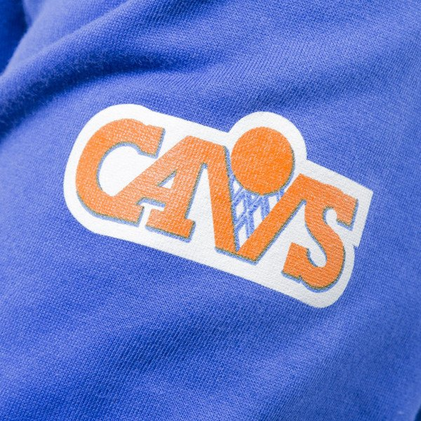 Mitchell & Ness sweatshirt crewneck Clevelad Cavaliers crewneck royal NBA START OF THE SEASON