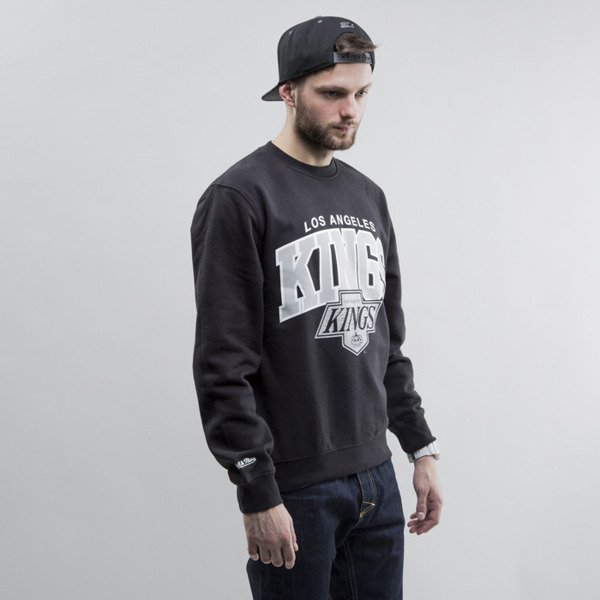 Mitchell & Ness sweatshirt crewneck Los Angeles Kings black Team Arch