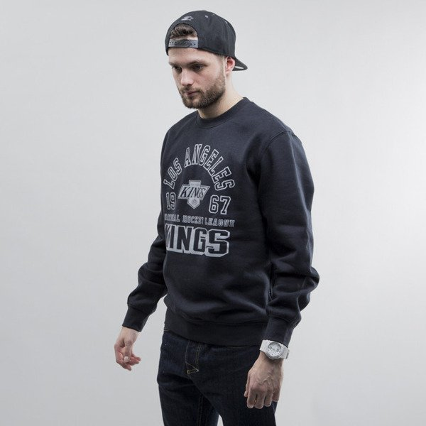 Mitchell & Ness sweatshirt crewneck Los Angeles Kings black Team Established