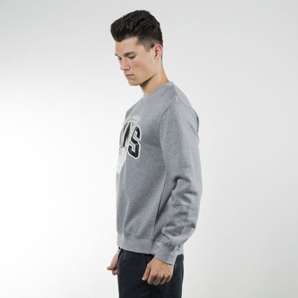 Mitchell & Ness sweatshirt crewneck Los Angeles Kings grey heather Black and White Team Arch