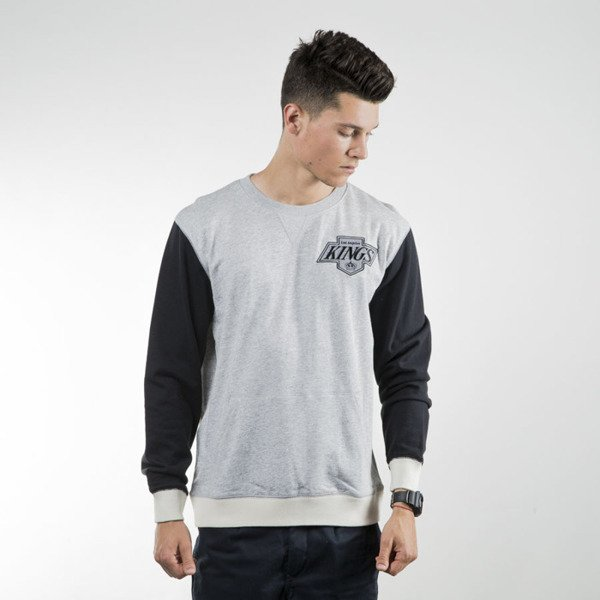 Mitchell & Ness sweatshirt crewneck Los Angeles Kings grey heather / black Team to Beat
