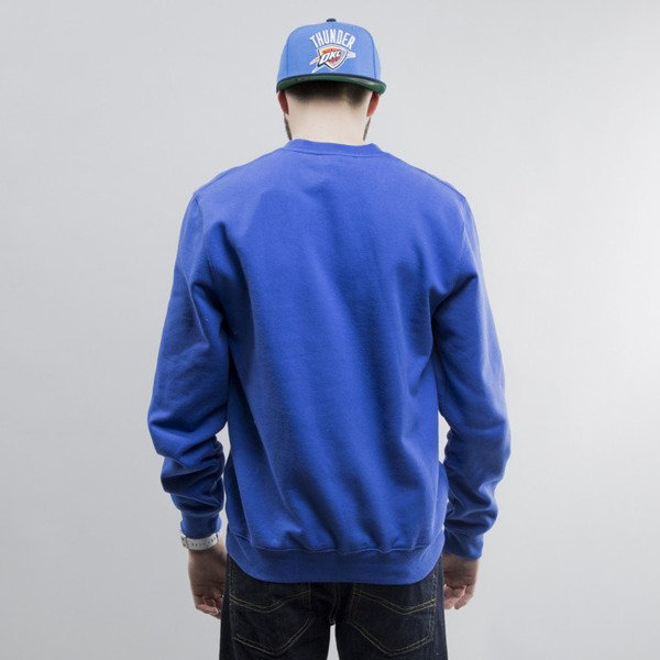 Mitchell & Ness sweatshirt crewneck Oklahoma City Thunder royal Team Logo