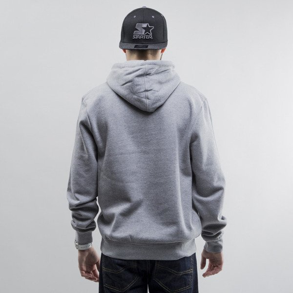 Mitchell & Ness sweatshirt hoody Los Angeles Kings heather grey Team Arch