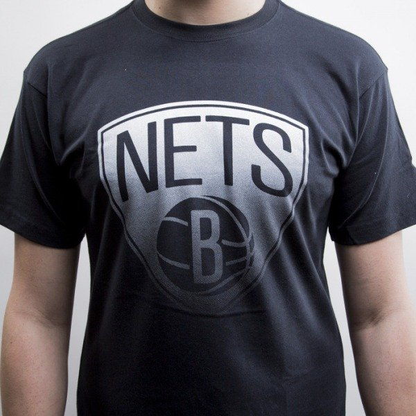 Mitchell & Ness t-shirt Brooklyn Nets black Gradient Infill Traditional