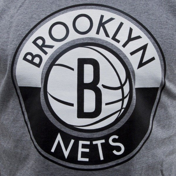 Mitchell & Ness t-shirt Brooklyn Nets dark grey Split Colour