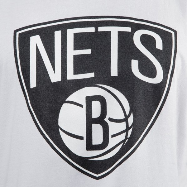 Mitchell & Ness t-shirt Brooklyn Nets white Team Logo Traditional