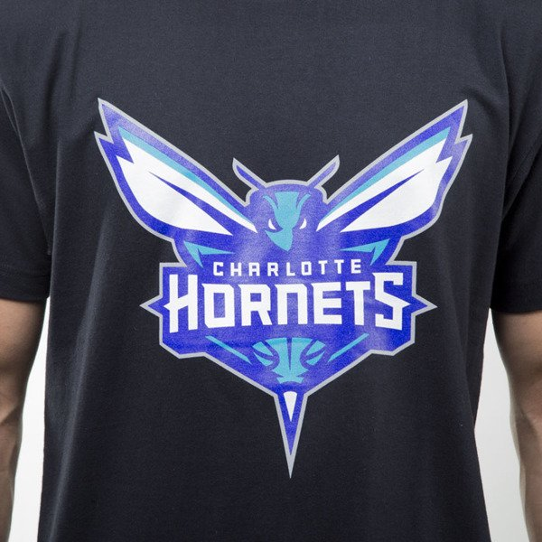 Mitchell & Ness t-shirt Charlotte Hornets black Team Logo Traditional