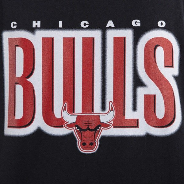 Mitchell & Ness t-shirt Chicago Bulls black tank top Retro Blur