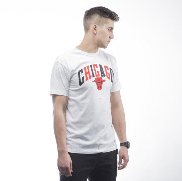 Mitchell & Ness t-shirt  Chicago Bulls white Tri Pop Traditional