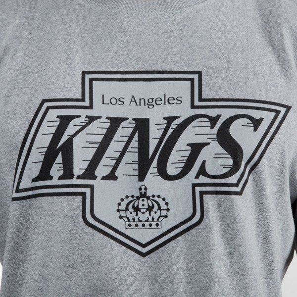 Mitchell & Ness t-shirt Los Angeles Kings grey heather Team Logo Traditional