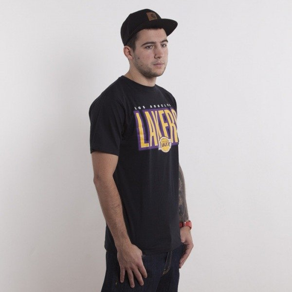 Mitchell & Ness t-shirt Los Angeles Lakers black Retro Blur