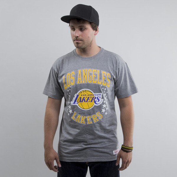 Mitchell & Ness t-shirt Los Angeles Lakers dark grey Hometown Champs Traditional