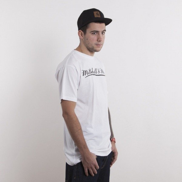 Mitchell & Ness t-shirt Mitchell&Ness white Script