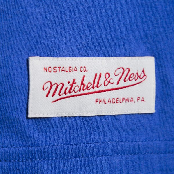 Mitchell & Ness t-shirt New York Knicks royal Team Logo Traditional