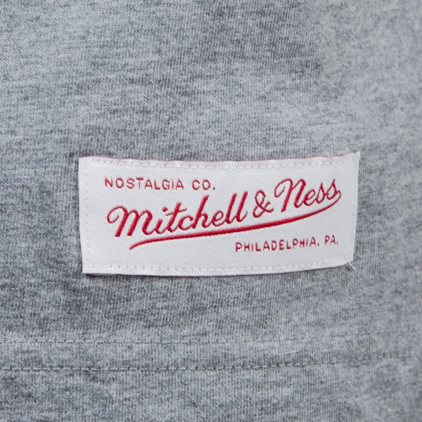 Mitchell & Ness t-shirt San Antonio Spurs grey heather TEAM ARCH TRADITIONAL