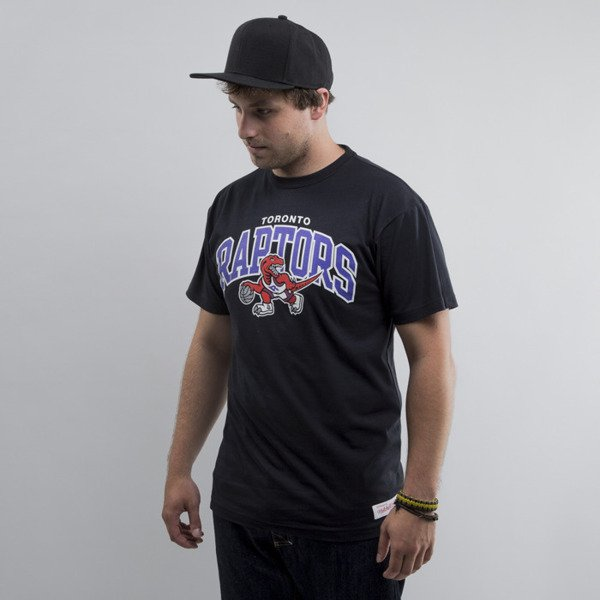 Mitchell & Ness t-shirt Toronto Raptors black Team Arch