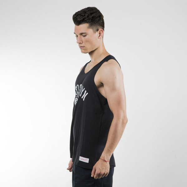 Mitchell & Ness tank top Brooklyn Nets black Tri Pop