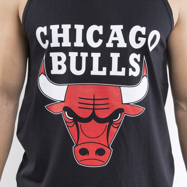 Mitchell & Ness tank top Chicago Bulls black Team Logo