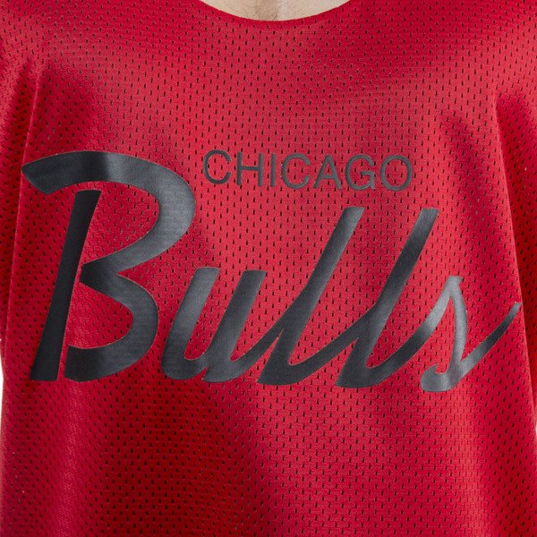 Mitchell & Ness tank top Chicago Bulls black / red REVERSE MESH