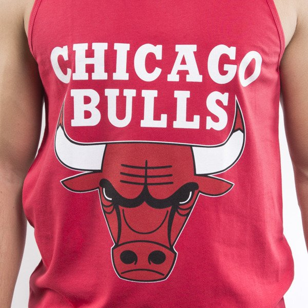 Mitchell & Ness tank top Chicago Bulls red Team Logo
