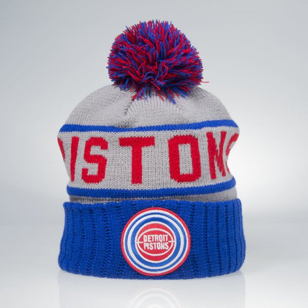 Mitchell & Ness winter beanie Detroit Pistons grey KJ46Z High 5