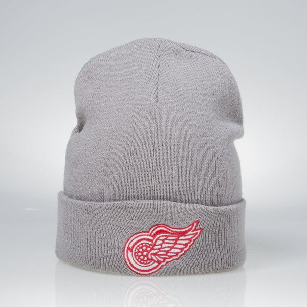 Mitchell & Ness winter beanie Detroit Red Wings grey EU253 Headline